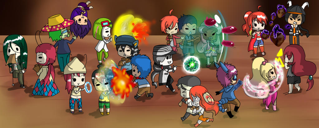 Crazy Pirate Party Attack -PT- by ADSanika