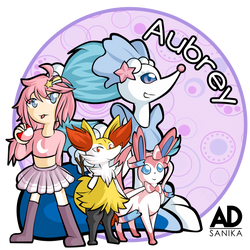 Aubrey ID -COMM- by ADSanika
