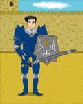 El Caballero de Azul by Xtreme-jp
