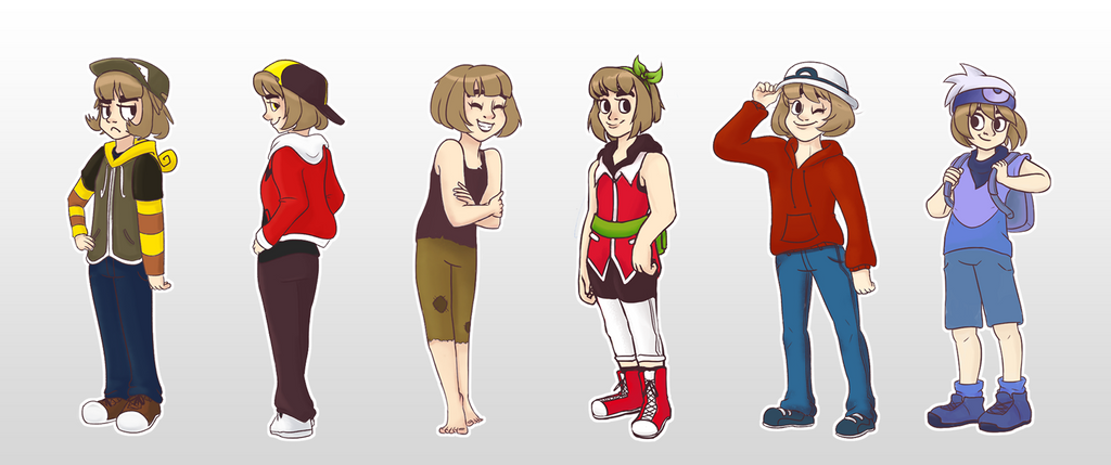 how to change clothes pokemon y