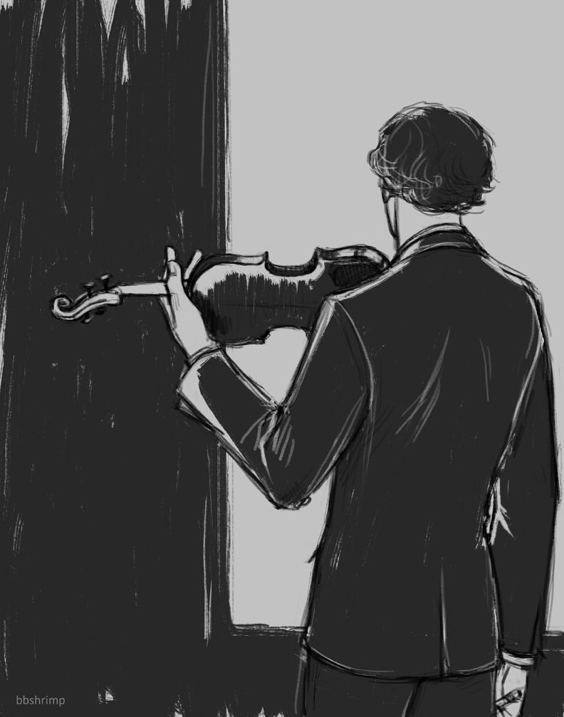 grey grey grey violin by bbshrimp