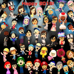 Happy 2018! by TigerfishAori