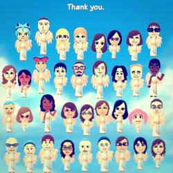 Thank you Miitomo by TigerfishAori