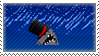 STAMP - Posh Shark by AniWhichWay