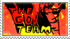 STAMP - The Go! Team | Thunder, Lightning, Strike by AniWhichWay