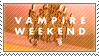 STAMP - Vampire Weekend | Vampire Weekend by AniWhichWay