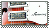 STAMP - Harmony Guitar by AniWhichWay