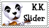 STAMP - K.K. Slider (Animal Crossing) by AniWhichWay