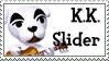 STAMP - K.K. Slider (Animal Crossing) by AniWhichWay