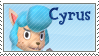 STAMP - Cyrus (Animal Crossing) by AniWhichWay