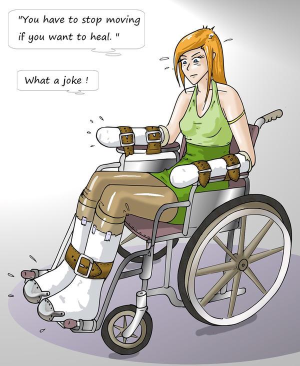 Seems Girl in medical bondage phrase Your
