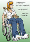 back to wheelchair