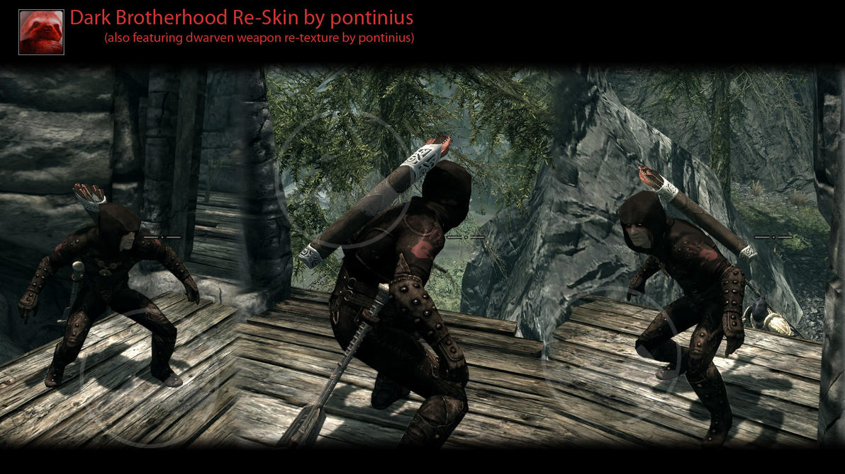 Dark Brotherhood Reskin -Skyrim by Kalutica