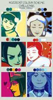 Avatar Colour Scheme Challenge by teekesselchen