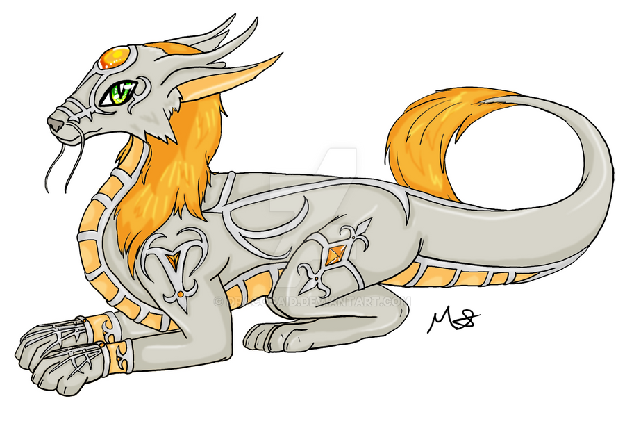 Koryuki : Silver Kirion By Thulianshadow by dracosaid