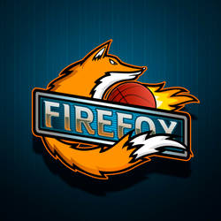 Logo of the basketball team.FireFox by AlexEngine