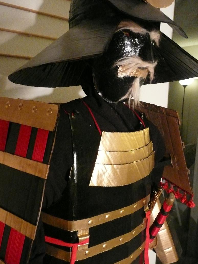 Cardboard Samurai Armor 3 By Makinstuffoutofstuff On