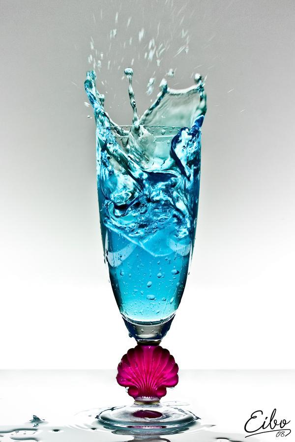 Blue Splash by Eibography