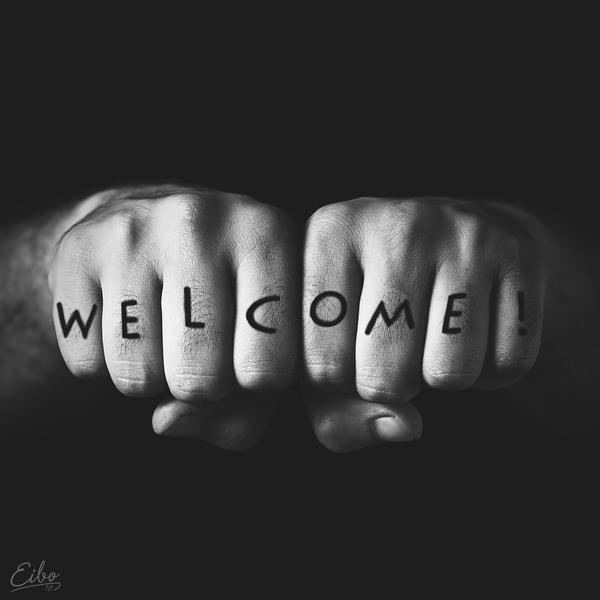 Petite présentation de Tiny Welcome_by_Eibo_Jeddah