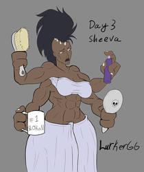 Sheeva's mornings by Lurkergg