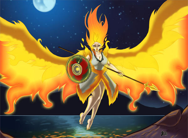 Moltres The Shield Maiden By Lurkergg On Deviantart Things don't go as planned for the twinrova sisters. moltres the shield maiden by lurkergg