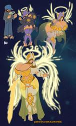 Angel Tier Transformation by Lurkergg