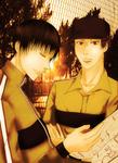 In dusk Yanagi and Sanada by HeavyGauze