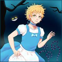 Tweek in Wonderland by DaniHoshi