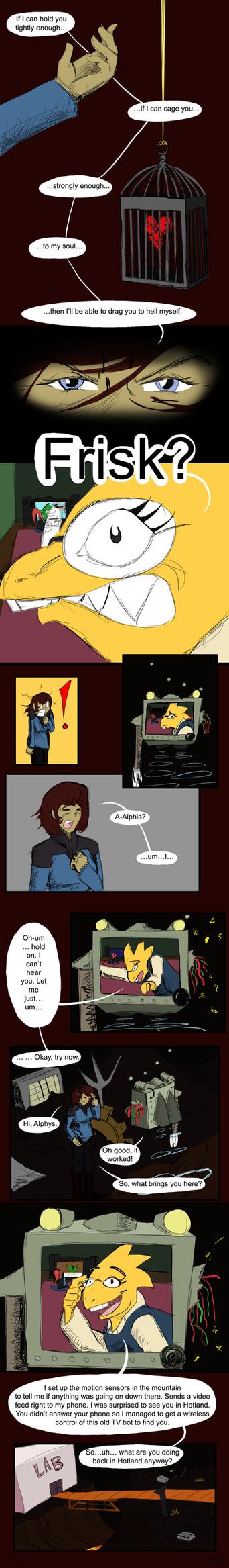 Undertale: Living Coffin -3 by IvyLeafTea