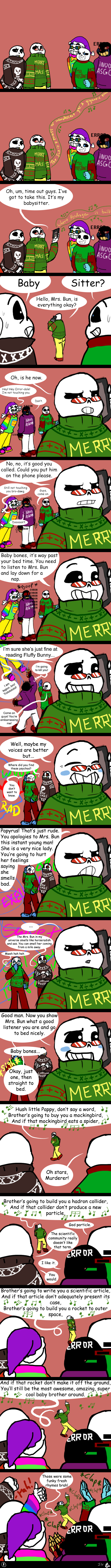 Christmas Party Au Comic.Undertale Cpau 1 Time Out By Ivyleaftea On Deviantart