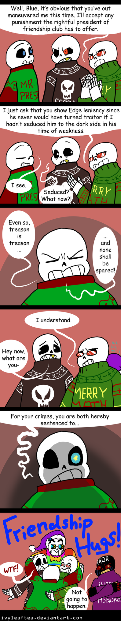 Undertale CPAU: 3-  Crime and Punishment by IvyLeafTea