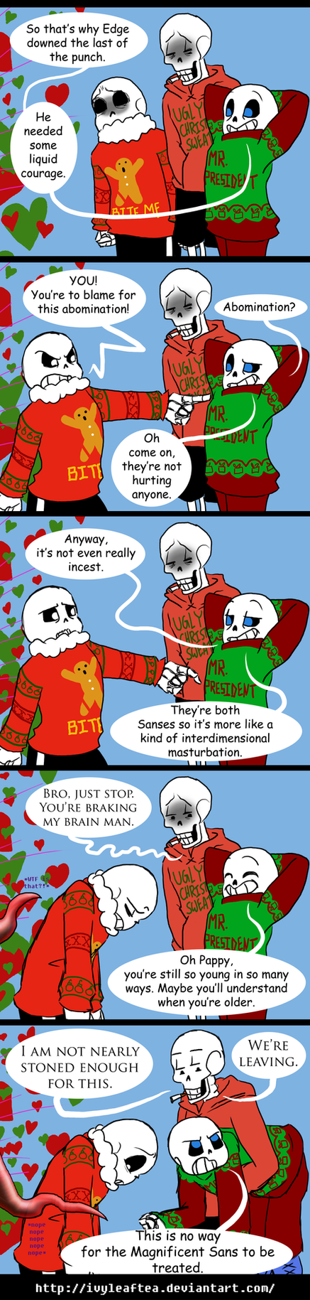 Undertale CPAU: 7 - He Speaks the Truth You know by IvyLeafTea