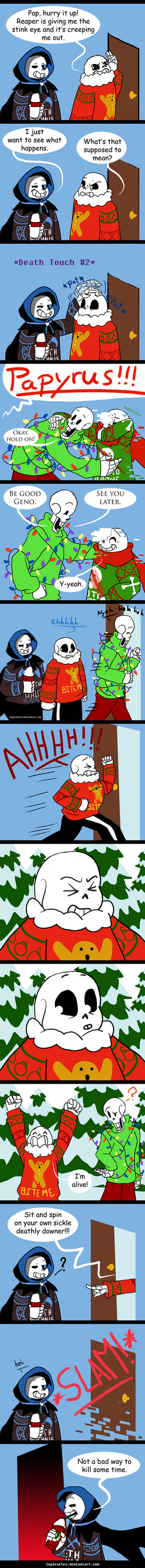 Undertale CPAU: 10 - Touch of Death, Dash of humor by IvyLeafTea