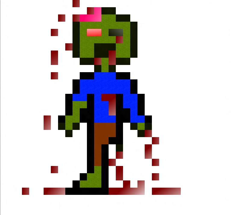 Zombie Sprite By PixelStuffs On DeviantArt