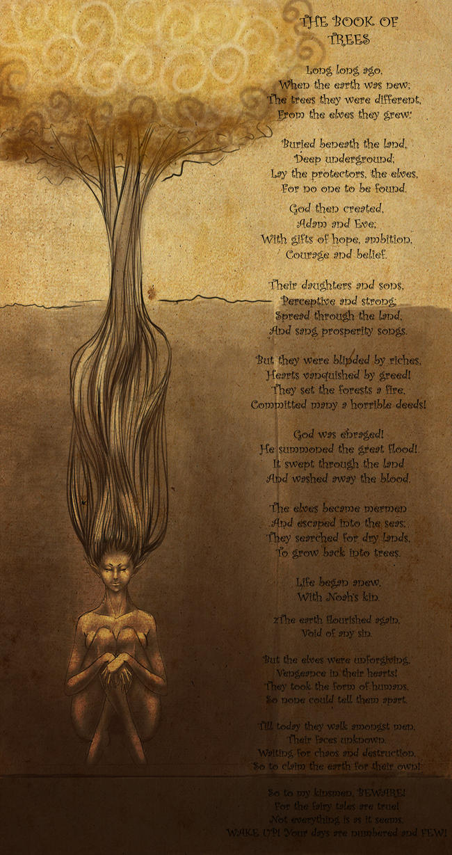 poem.... book of trees by Dann-Rei