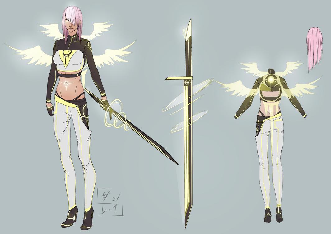 FF XIII Lightning Returns II (better rez) by Dann-Rei
