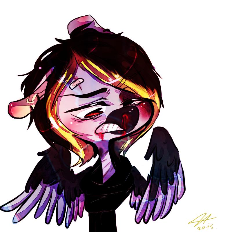 .:COMM1/3:.''DAMN!Is my snout bleeding?'' by Jessicathehedgehog55