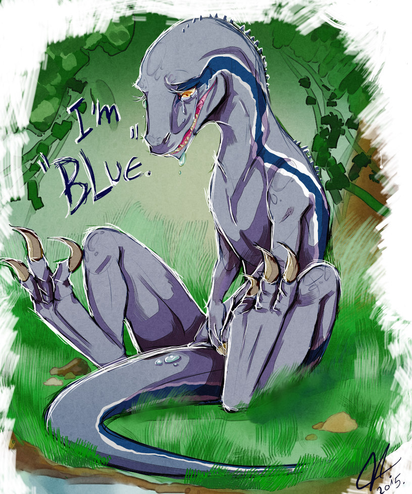 .:..*.+~''I'm Blue''~+.*..:. by Jessicathehedgehog55