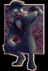 .:COMM:. - TopHat-Zombie - by Kiirurri