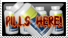 PILLS HERE Stamp L4D
