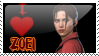 I love Zoei Stamp: L4D by KikiLime