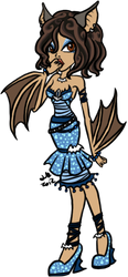 Monster High: Bathany Noctivigans by KikiLime