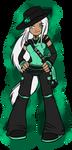 PI: Auroralee Trainer Chibi Commission by KikiLime