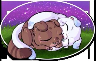 Snuggle Buddies by KikiLime