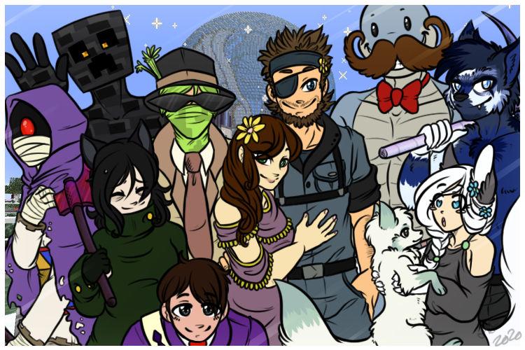 AR Minecraft Family