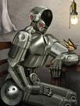 Cyborgs Butterfly by Pixel-Slinger