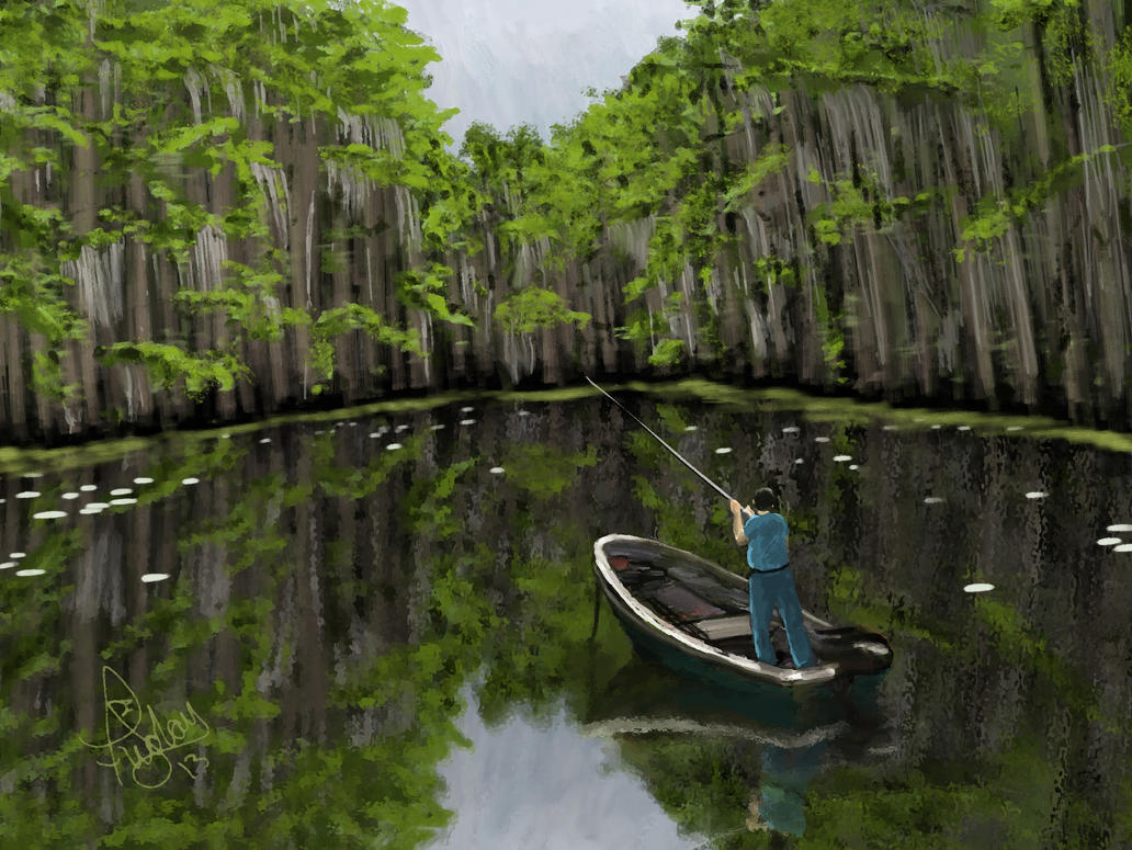 Swamp Fishing by Pixel-Slinger on DeviantArt