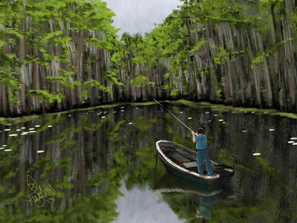 Swamp Fishing by Pixel-Slinger on DeviantArt