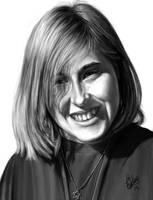 Tia Portrait by Pixel-Slinger