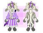 [ OPEN 4$ ] sassy swordslinging goat SET PRICE by fxggxty